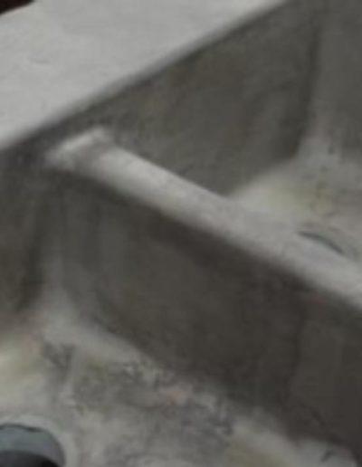 stone crete artisans nashville tn integral sink