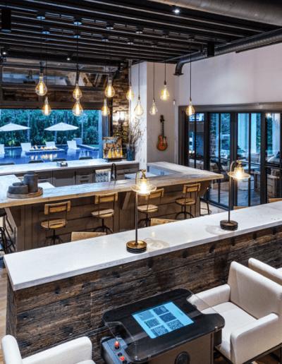 custom concrete bartop restaurant nashville