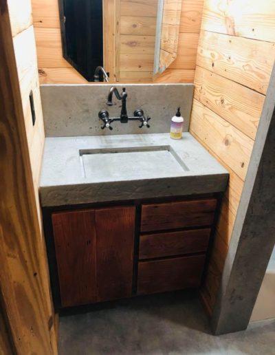 stone crete artistry concrete bathroomn vanity nashville