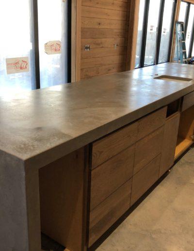 stone crete artistry concrete countertops installation nashville