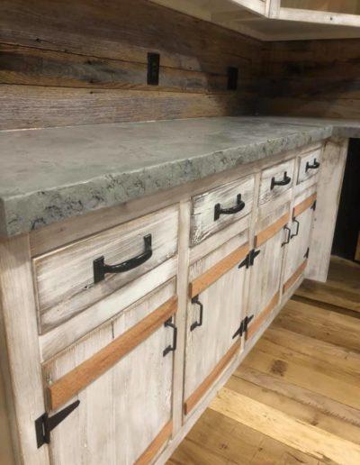 stone crete artistry concrete countertops nashville farmhouse kitchen rustic 2