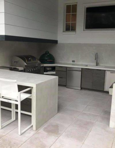 stone crete artistry concrete countertops nashville outdoor kitchen