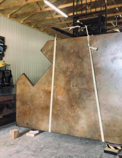 stone crete artistry concrete countertops nashville process