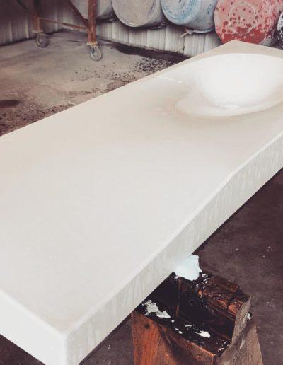 stone crete artistry concrete countertops sink nashville