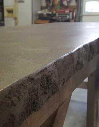 Custom Concrete Countertop by Stone-Crete Artistry